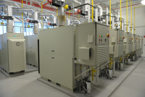 Green Data Center Natural Gas Turbines Interior