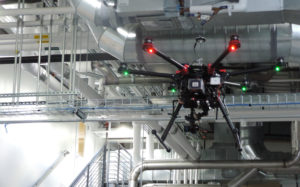 A photo of an unmanned aerial vehicle enable designers that helps architects to comprehend design decision impacts on energy efficiency, carbon emissions, human comfort and health through performance-based design.