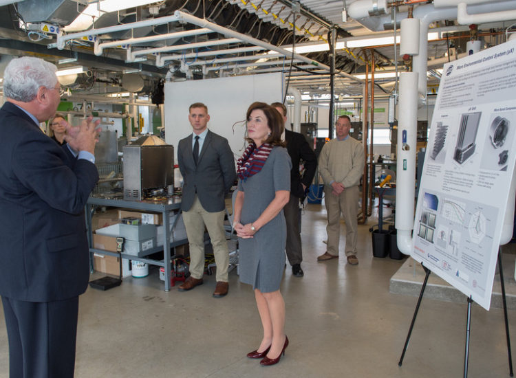 Photo from the visit of Lieutenant Governor Hochul