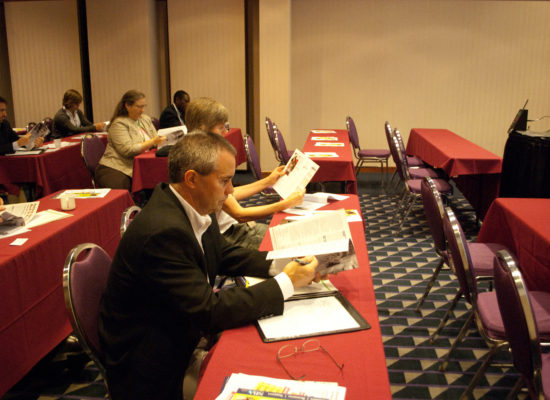 Photo of conference guests