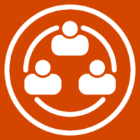 Cluster Networking Icon square