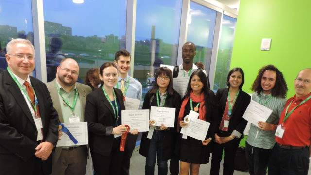 Winners of the 2015 SyracuseCoE Student Poster Competition